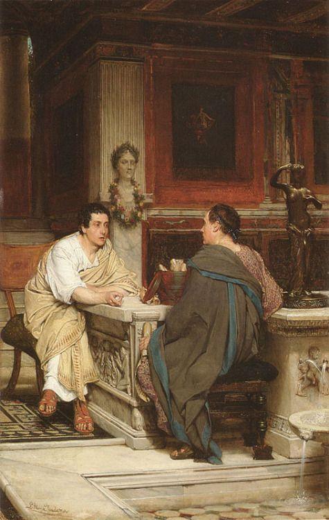 Sir Lawrence Alma-Tadema: Disco - arthurboehm   ello