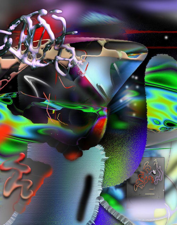 painting featuring blends creat - escapescapes | ello