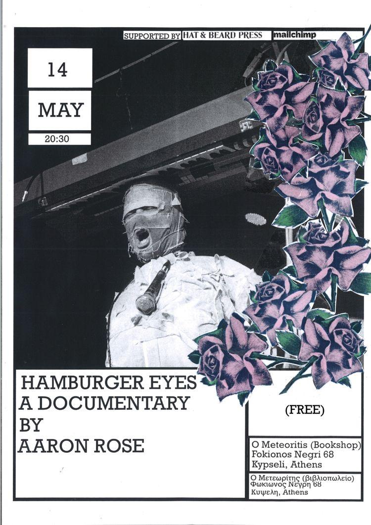 Hamburger Eyes film flyer Athen - santawest | ello