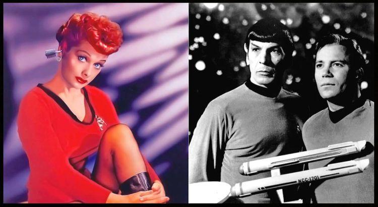 Lucy Saved Star Trek. NBC rejec - ccruzme | ello
