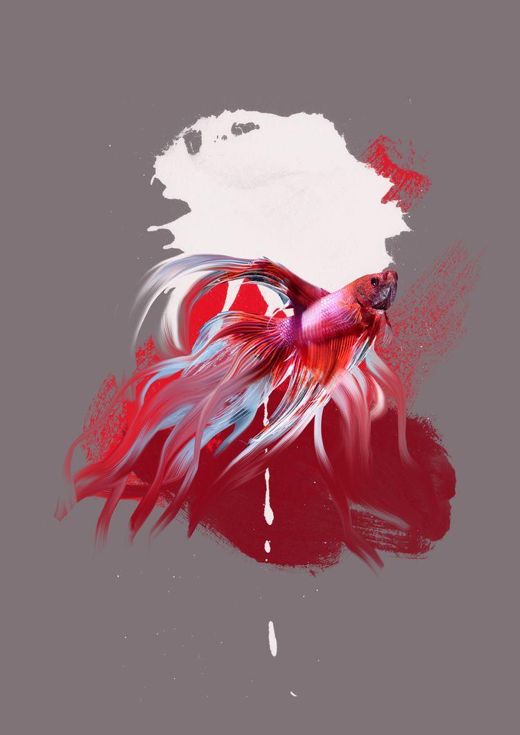 Fresh Fish // 2019// 100x75cm p - marliesplank   ello