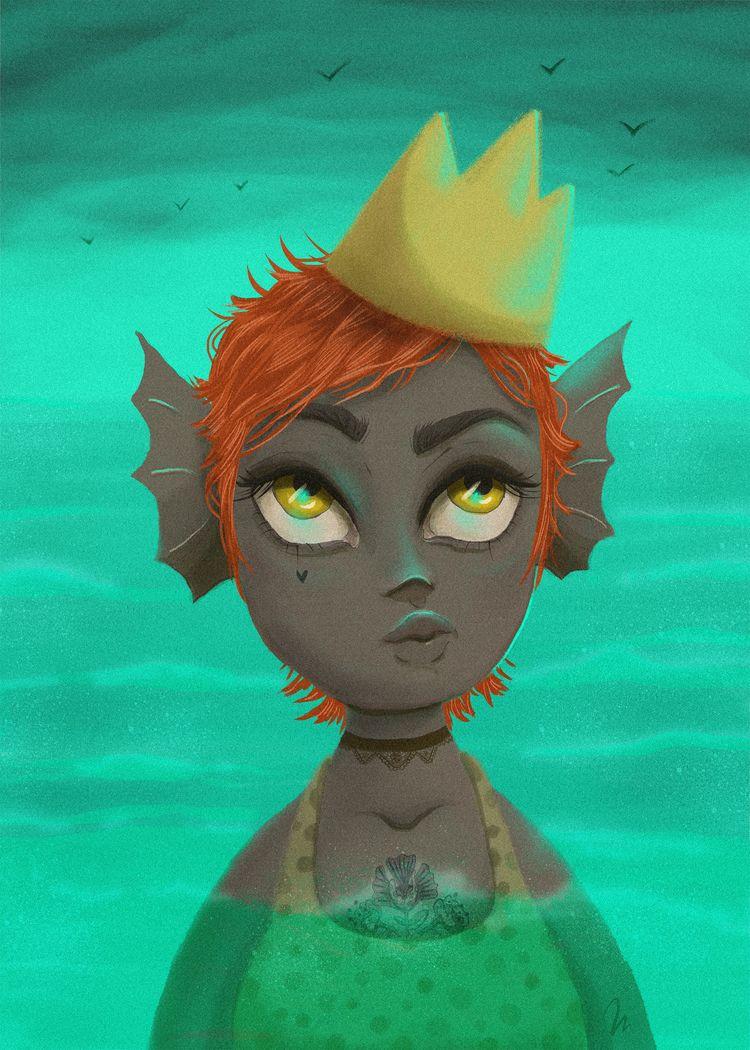 Challenge Mermaid 3, god! queen - marinaembiz | ello