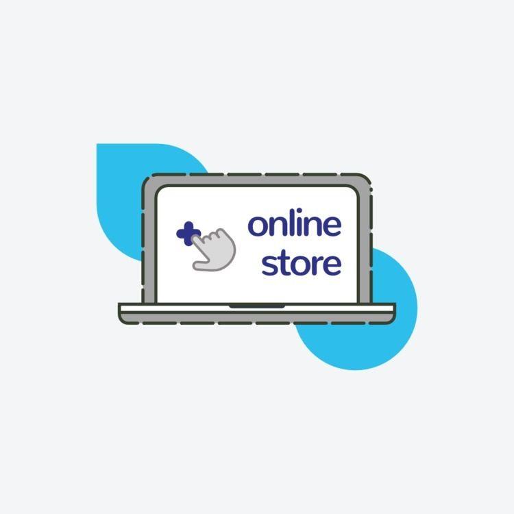 Web icon online store - webdesign - pmjm | ello