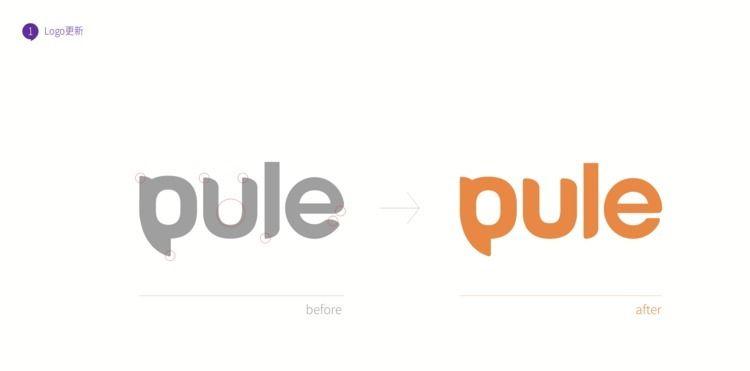 项目:Pule原创IP童装品牌 负责:Logo升级 - vs_mail | ello