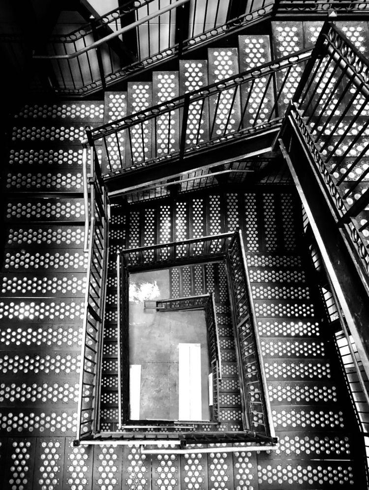 Unique stairwell Thomas Edison  - nikonkenny   ello
