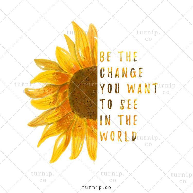 Watercolor Sunflower Sublimatio - turnipco | ello
