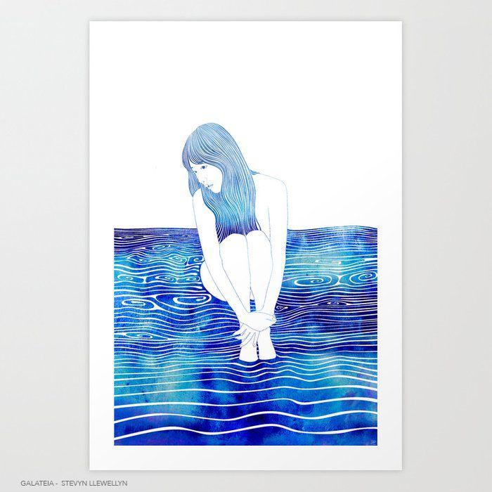 Galateia - — Nereid sea-foam. D - stevynllewellyn | ello