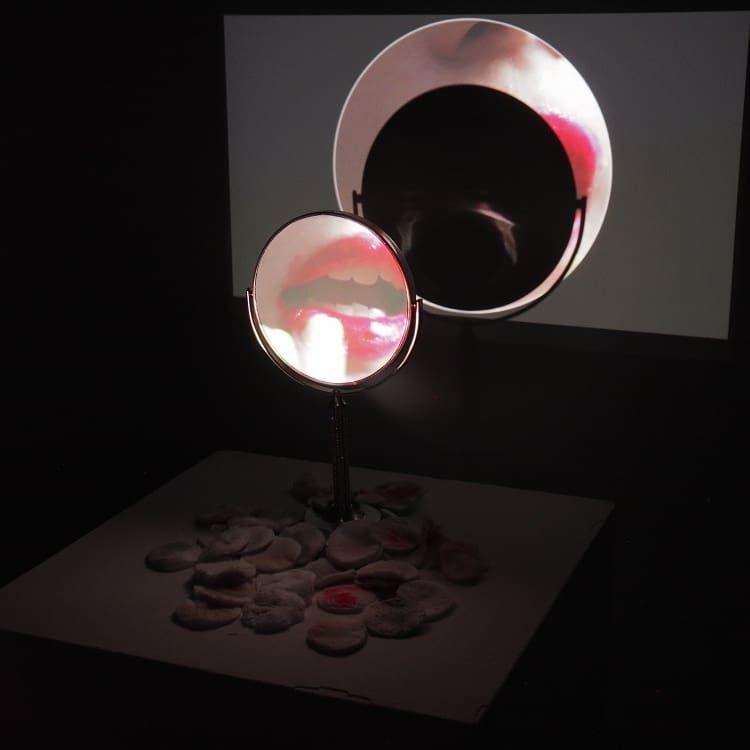 Mirror Piece display GiRL Glass - megankoth | ello