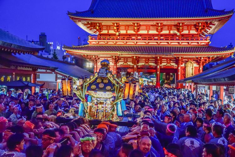 Chōkai mikoshi togyo  - japan, tokyo - yoshirou   ello
