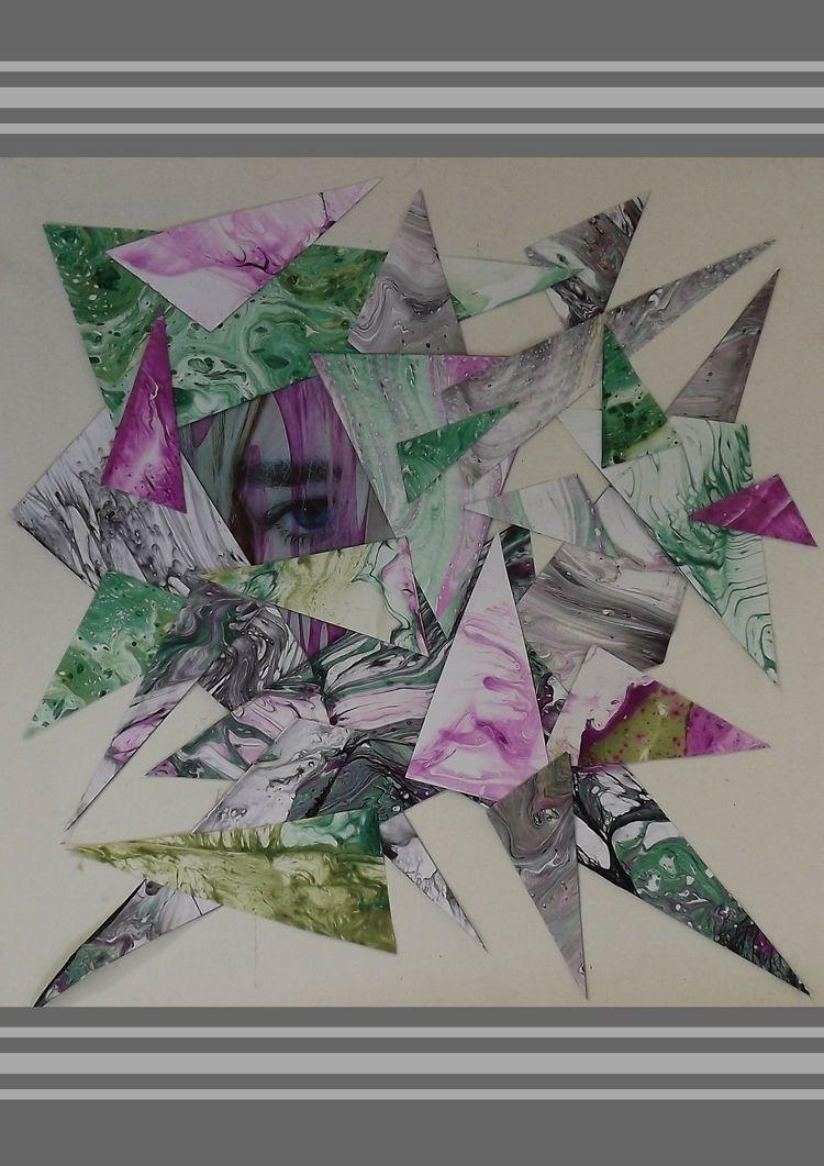 MP - art, marbledpaper, geometry - geex | ello