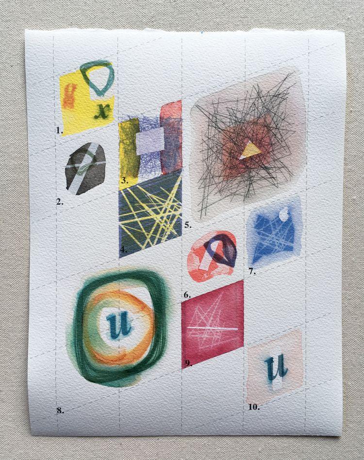diagonal sketches distant futur - mineralannie | ello