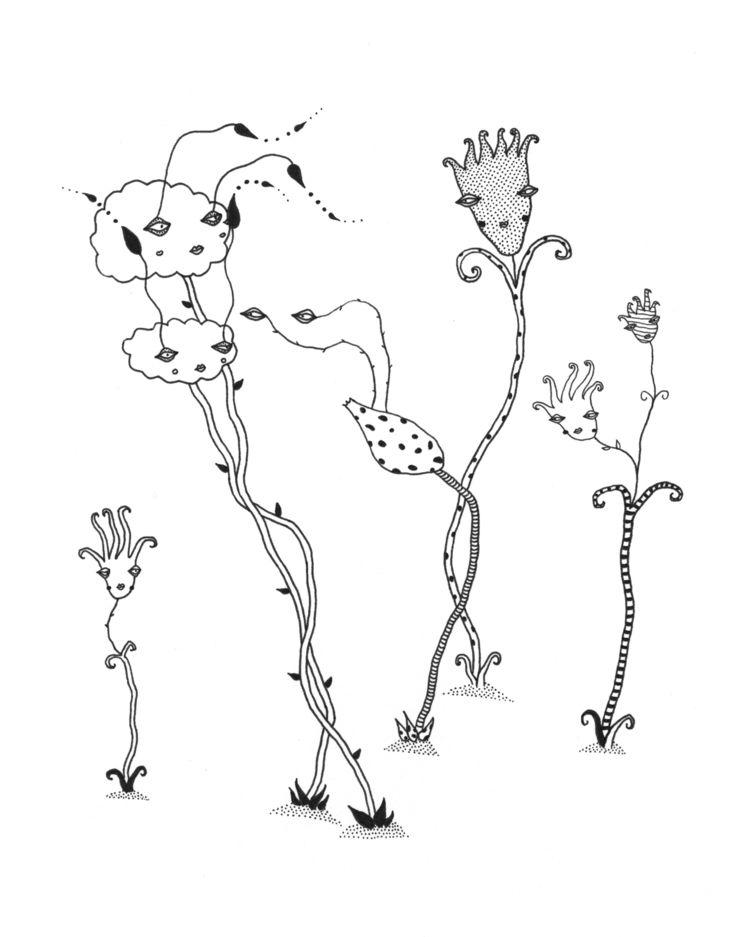 tra la land - illustration, ink - tralalaland | ello
