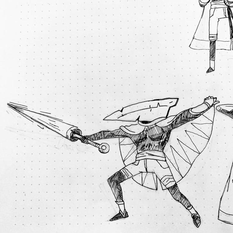 Doodles work - falsekings | ello
