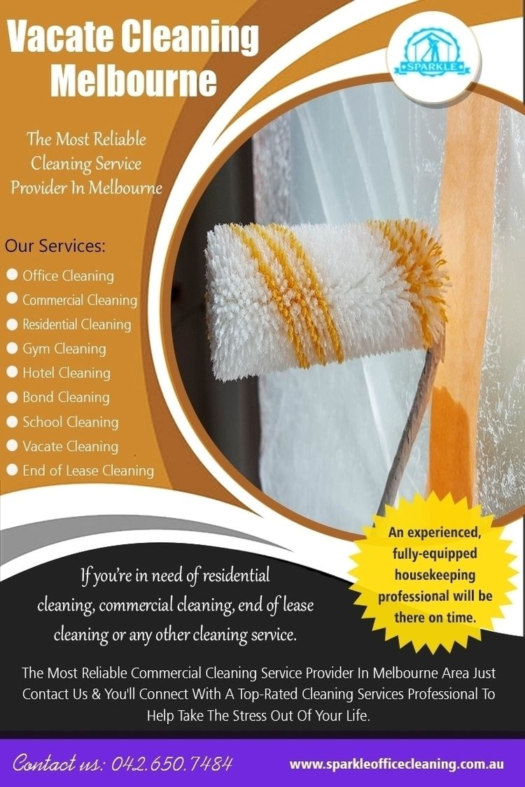 Vacate Cleaning Melbourne - Req - bondcleaningservices | ello