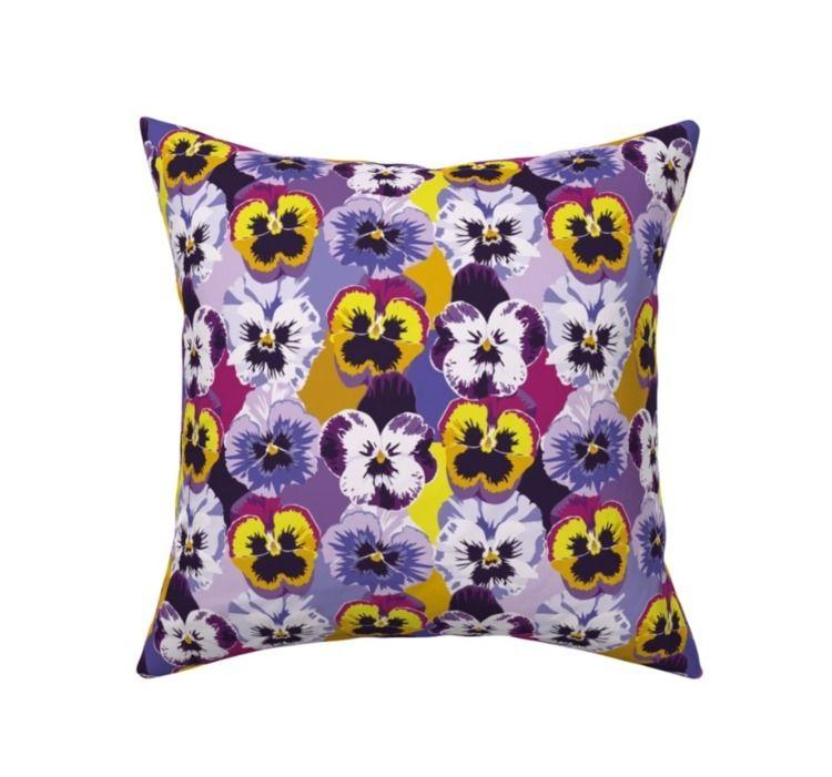 Pansies / viola flowers colorfu - almarlene | ello