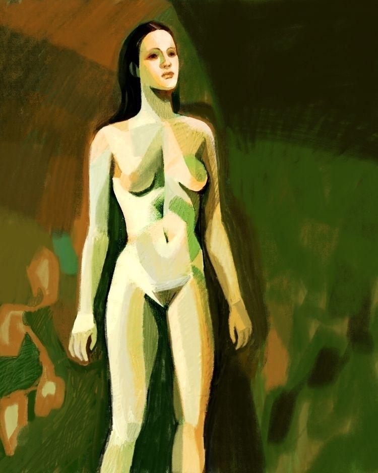 nudedrawing, procreate, digitalpainting - martinx | ello
