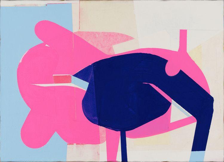 Piggy, 2019 Acrylic paper canva - kazuhirohigashi | ello