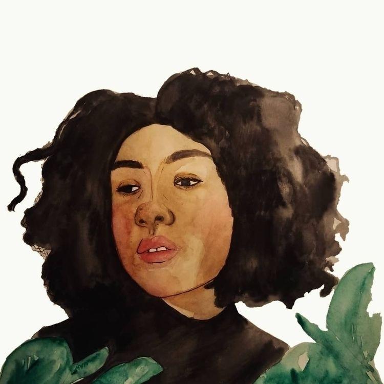 minimalist - watercolor, painting - iwasneptune | ello