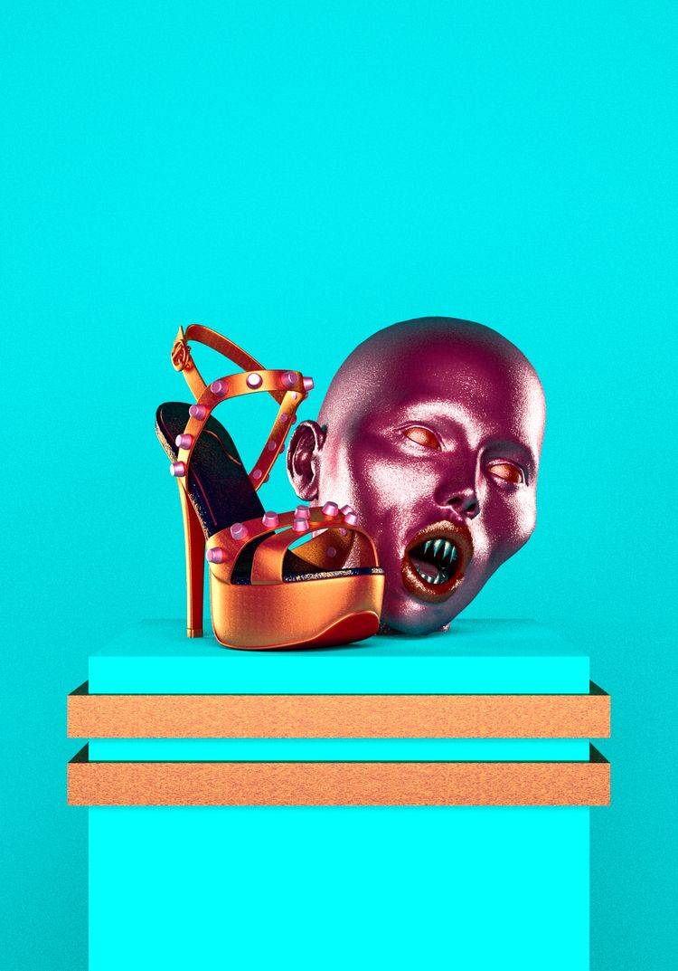 Fashion Killer - Art, 3Dart, Cinema4D - mathudesign | ello