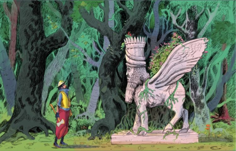 encounter strange idol forest?  - design71 | ello