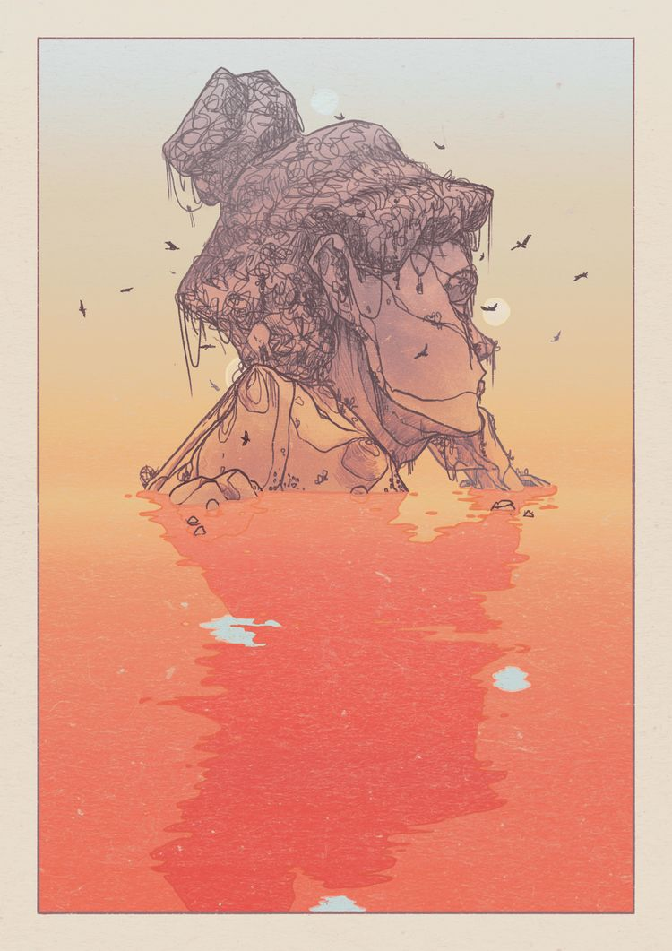 Nature People  - illustration, surrealism - danielido | ello