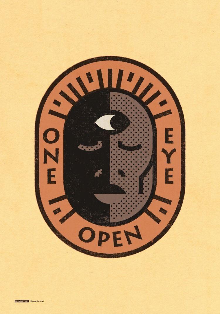 woke, oneeyeopen, design, graphicart - properganda | ello