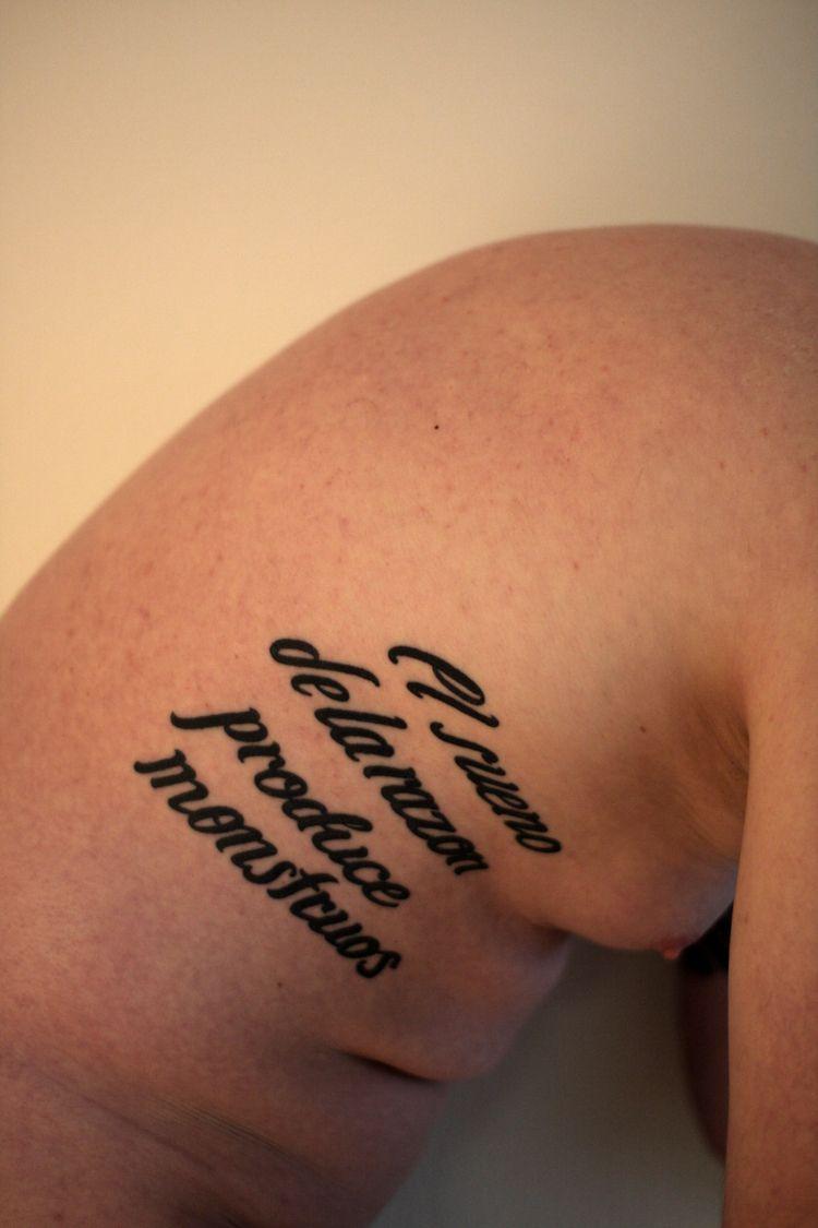 nude, naked, selfportrait, tattoo - uncensoredself | ello