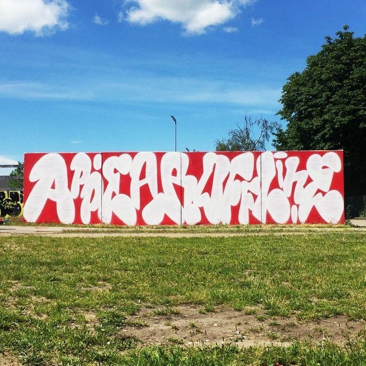 Offline — Lettering Mural - appearoffline | ello
