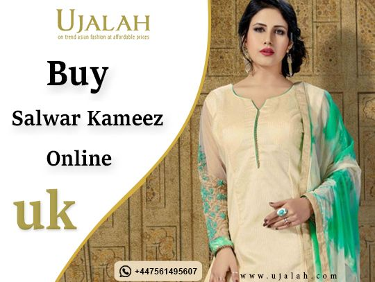 Online Salwar kameez suite trad - ujalah | ello