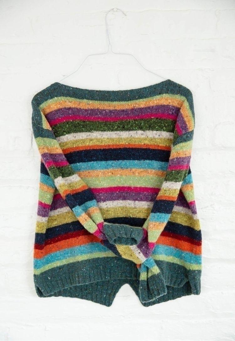 Striped sweater - striped, fashion - zolychka | ello