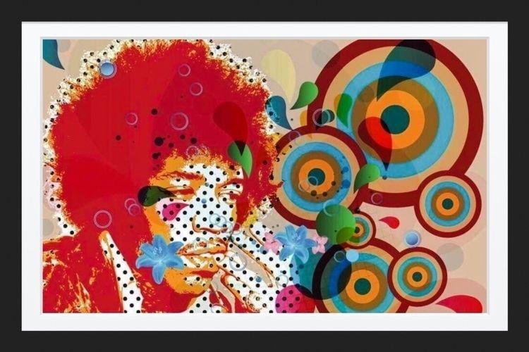 "Jimi Hendrix"" Copyright 2000-20 - radphobia | ello"