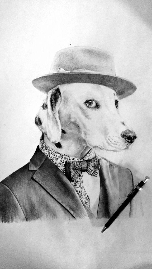 30x45 DALMATIEN - dog, blackandwhite - co-click-co   ello