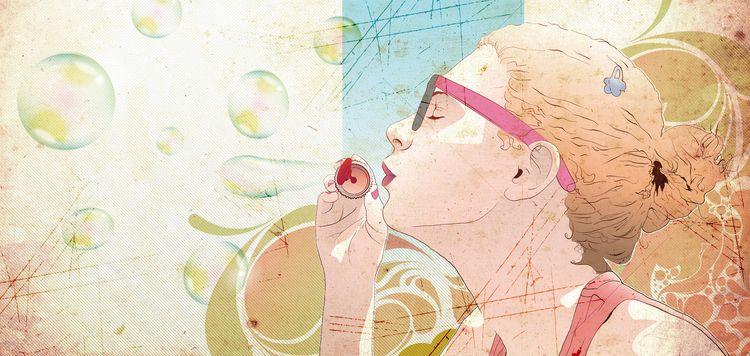 Soap Bubble - vector, illustration - lorenzoimperato | ello