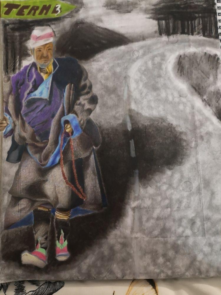 Hey ya gurl coming Street art p - chipsmilk | ello