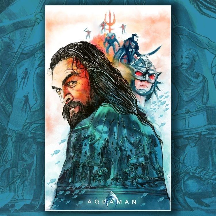 Alternative Movie Poster- Aquam - thecommas | ello