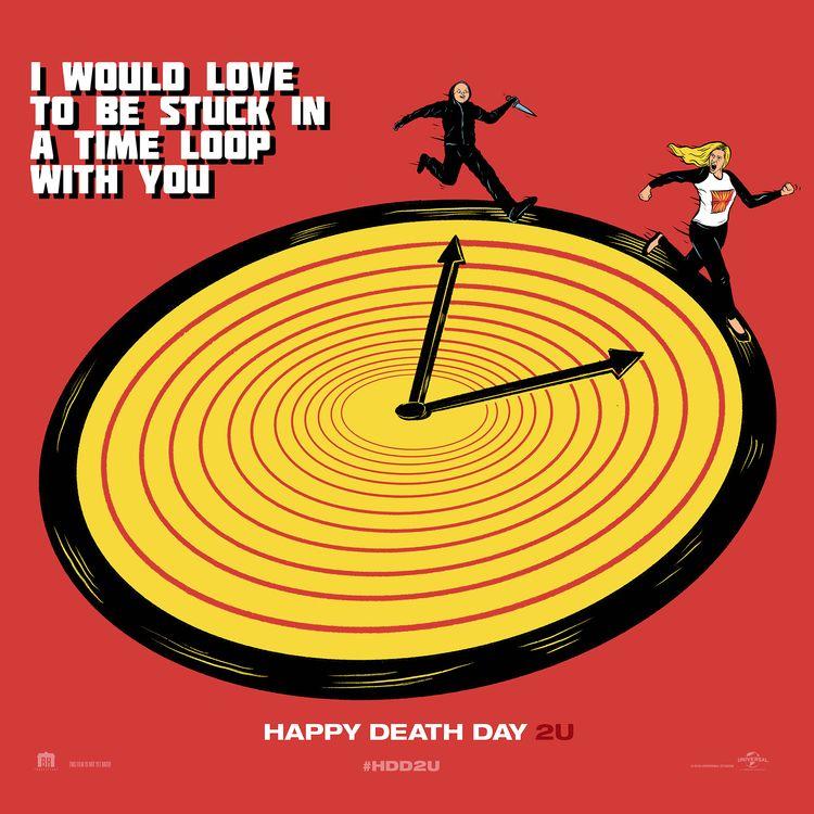 Alternative Poster-Happy Death  - thecommas | ello