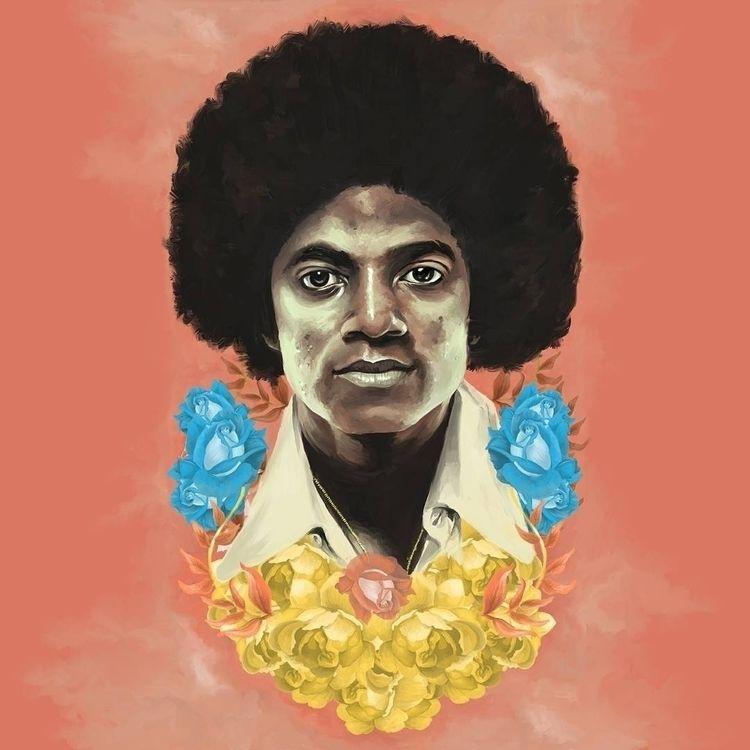 Commission- Michael Jackson Oil - thecommas | ello