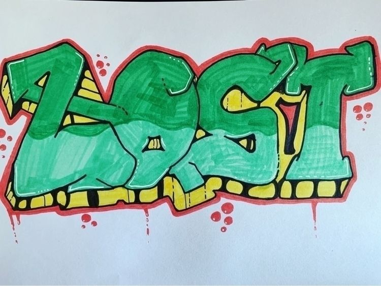post page. love drawing graffit - lost_drawing | ello