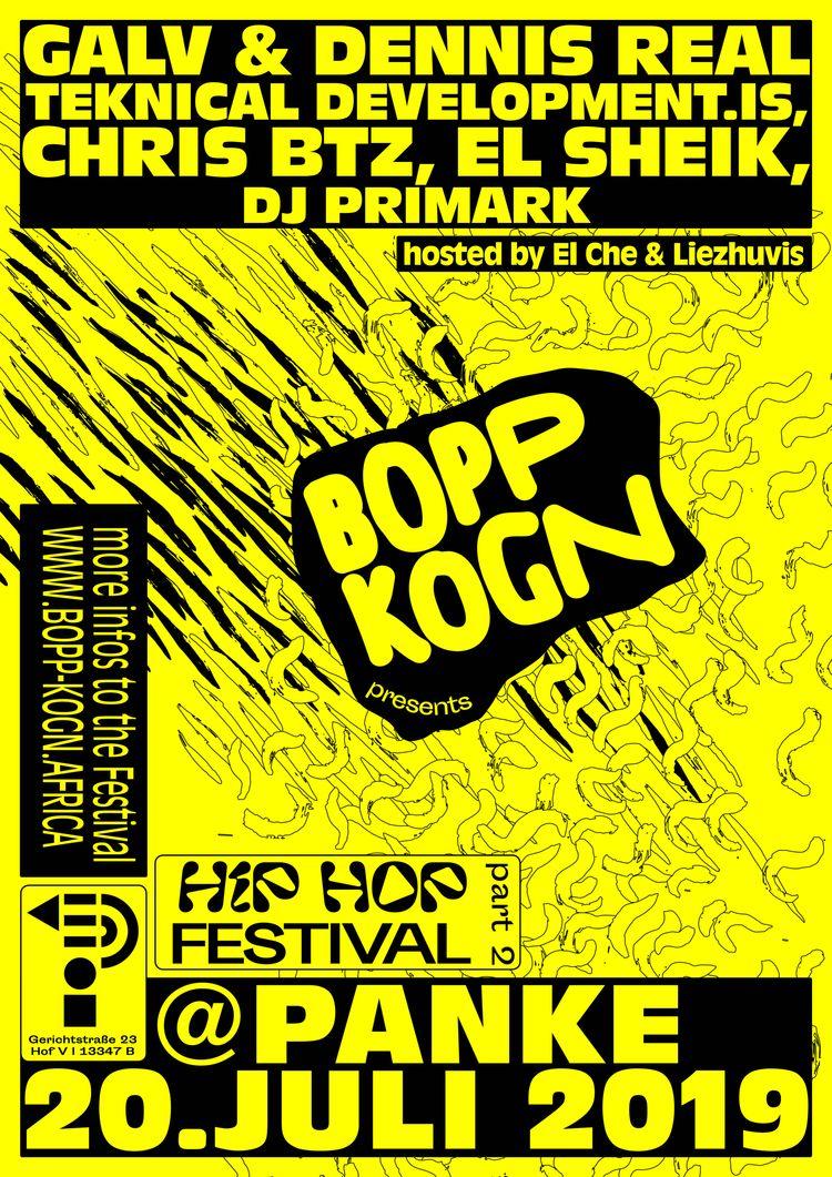Poster Bopp Kogn Hip Hop Festiv - fabiantombers | ello