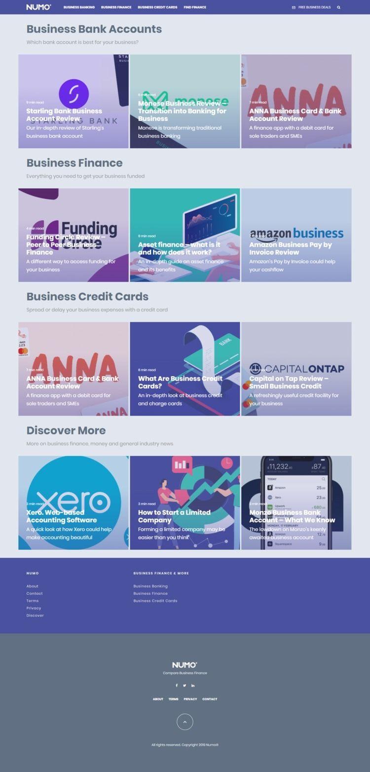 Small Business Finance Numo, cu - numo12 | ello