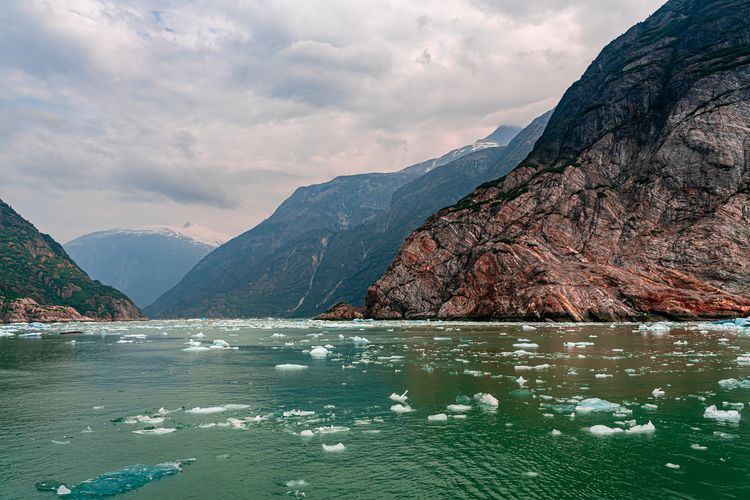 Ice Floats floats rocky walls T - 75centralphotography | ello