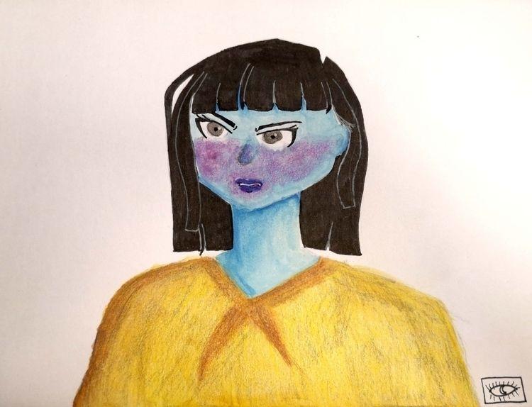 finished hate watercolor colore - likespiss | ello