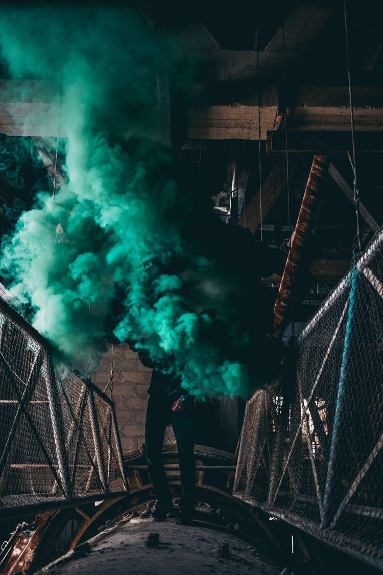 smoke - urbex, urbanexploration - rxspawn | ello