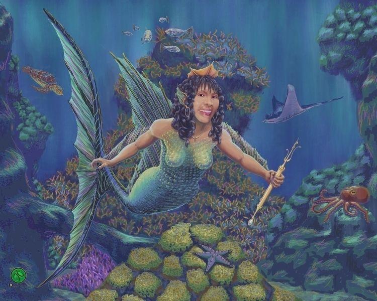 Ying Bohol Sea Queen, 16x20in D - xtillos | ello