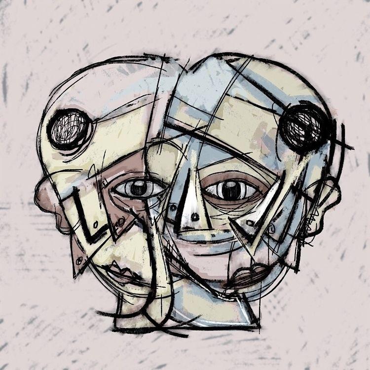 recombined  #head - heads - catswilleatyou   ello