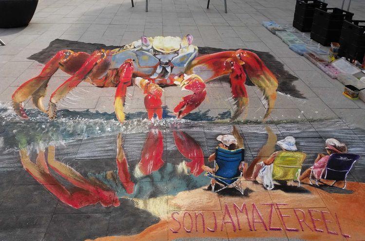 sonjAMAZEreel, Kortrijk, chalkpainting - sonjamazereel | ello