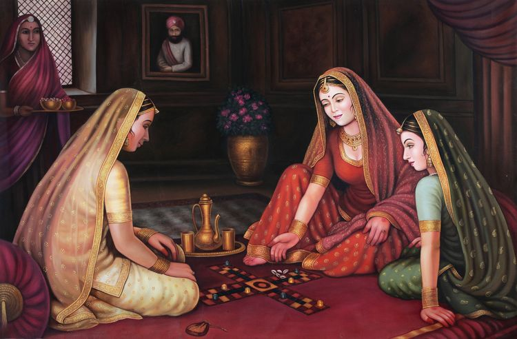 painting, contemporary work ren - vyanrathore | ello