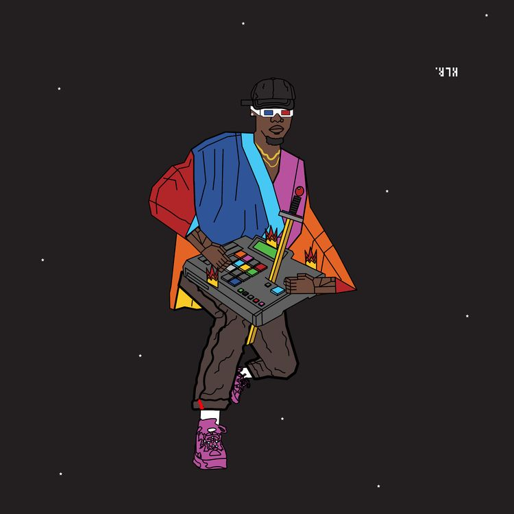 urban nerd beats.  - illustration - kadi_sabi | ello