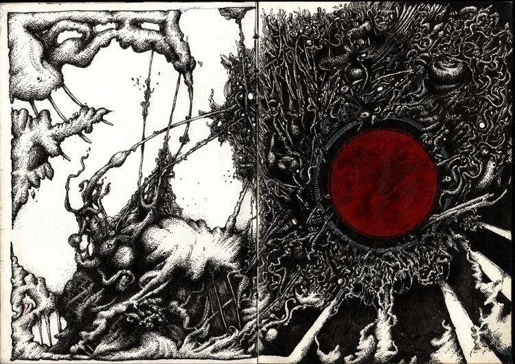 Purgatory - Sketchbook page 2-3 - djerovski | ello