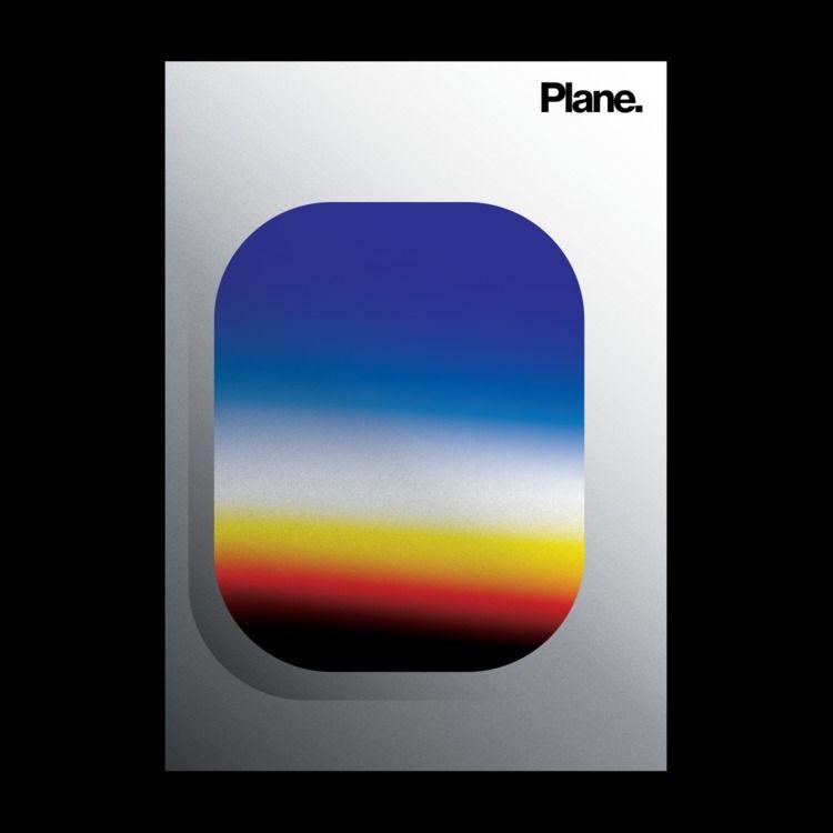 Plane  - poster, posterdesign, graphicdesign - madleif   ello